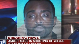 Person of Interest in custody in police officer shooting - Video