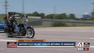 Missouri considers law allowing motorcyclists to ride without helmets - Video