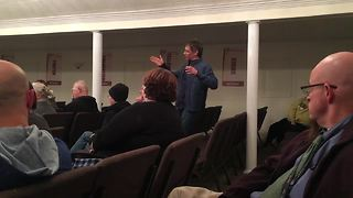 Councilman Jeff Miller attends community meeting amid child molestation charges - Video