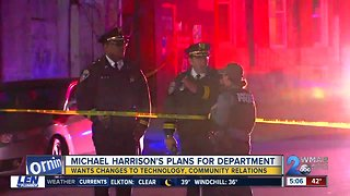 "BPD Commissioner Harrison talks of ""colossal task"" ahead"