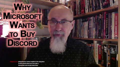 Why Microsoft Wants to Buy Discord: Eliminating Competition, Mergers & Acquisition, Monopoly Control