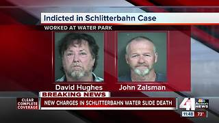 Schlitterbahn maintenance workers charged with obstruction of justice in Verrückt death