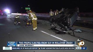 2 people ejected from SUV in rollover crash on SR-125