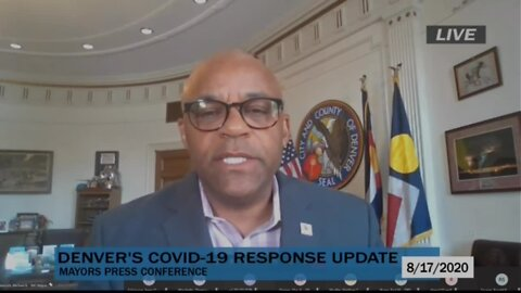 Denver officials hold update on COVID-19, youth violence