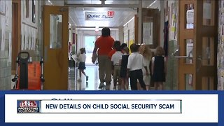 New details on child social security scam