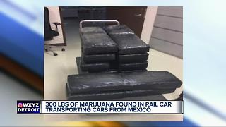 More than $2 million in marijuana found in Detroit-bound Ford vehicles - Video
