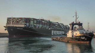 Ever Given Incident Leads To Brief Suez Canal Pollution Spike