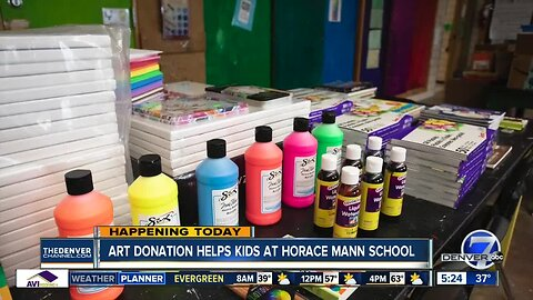 9 Dot Arts donation drive helps kids
