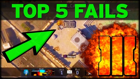 Top 5 fails for Black Ops 3