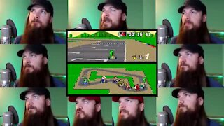 Super Mario Kart theme song covered acapella style