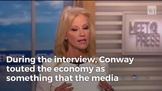 Conway Shames Obama, Uses His Own Words Against Him To Praise Trump's Economy