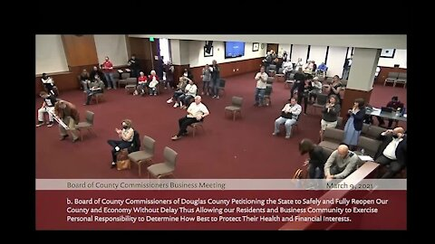 Douglas County commissioners pass resolution to petition state to 'reopen'