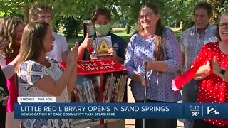 Little Red Library opens in Sand Springs