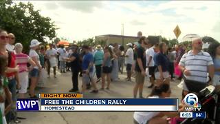 'Free The Children' rally held in Homestead