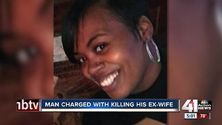 Man charged in ex-wife's death