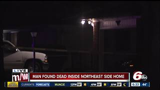 Man found dead inside Indianapolis house, homicide detectives investigating - Video