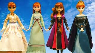 Queen Anna - Frozen II Arendelle Fashions Dolls (Hasbro & Disney Store - A Polyruss Collection)