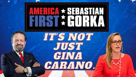 It's not just Gina Carano. The Federalist's Emily Jashinsky with Sebastian Gorka on AMERICA First