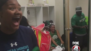 Lebron James FMH gift - Video