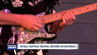 Second annual Totally Buffalo Festival to take place at Riverworks this weekend - Video
