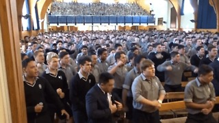 High School Boys Honour Retiring Teacher With Moving Haka