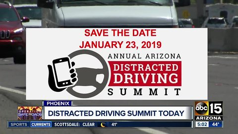 Distracted Driving Summit happening in Phoenix on Wednesday