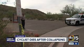 Mountain biker collapses on South Mountain trail, dies - Video