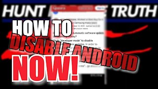 Take Action Before It's Too Late! How to TURN OFF Automatic UPDATES on Your Android Phone