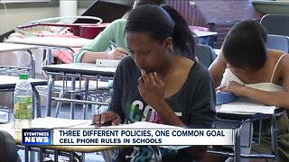 Different school districts mean different cell phone policies, but they all have the same goal