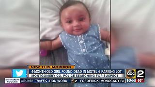 4-month-old girl found dead in Motel 6 parking lot - Video
