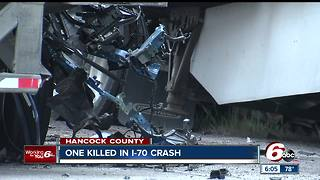 One person killed in deadly multi-vehicle crash involving two semis, multiple others injured