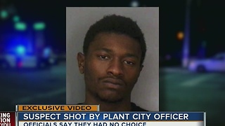 Plant City police shooting - Video