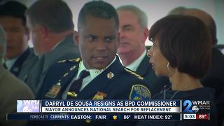 Baltimore Police Commissioner De Sousa resigns after not filing taxes - Video