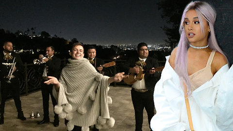 Ariana Grande's Friends Throw Her A Surprise Party With A Full On Mariachi Band