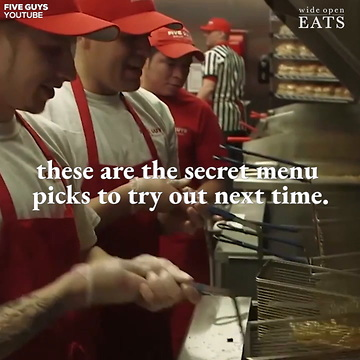 photo about Five Guys Printable Menu known as 5 Men Top secret Menu: 10 Products and solutions Oneself Genuinely Will need in direction of Get