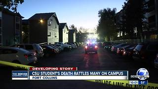 Fort Collins shooting: CSU student killed near campus identified as Savannah McNealy - Video