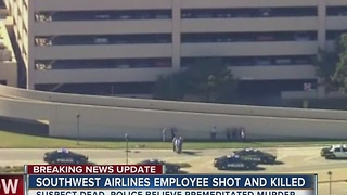 Southwest Airlines Employee Shot And Killed - Video
