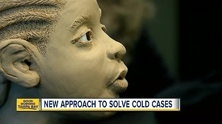 USF Art Gallery to help solve cold cases - Video