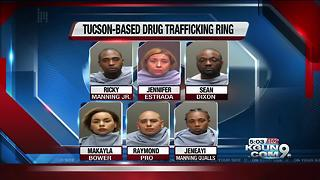 7 arrested in drug ring bust - Video