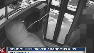 Bus driver fired for yelling at kids - Video