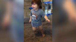 Cute Baby Is The Biggest Disney Fan - Video