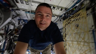 Touring the International Space Station at 18,000 mph - Video