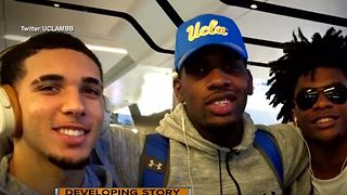 LiAngelo Ball, 2 other UCLA players future uncertain after shoplifting arrest in China - Video