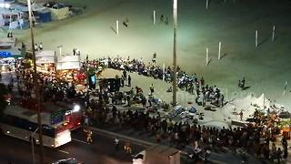 Car hits pedestrians at Copacabana beach promenade, kills baby, injures 15 - Video