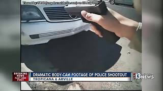 Dramatic body-cam footage shows deadly police shootout - Video