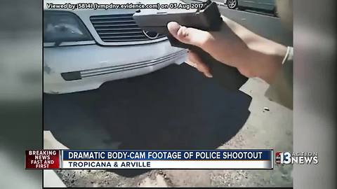 Dramatic body-cam footage shows deadly police shootout