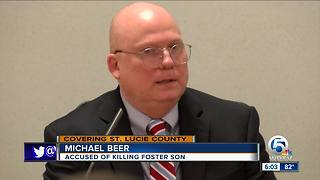 Man charged with killing foster son takes stand - Video