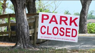 Lee County Commission Chair optimistic that parks could reopen within the month