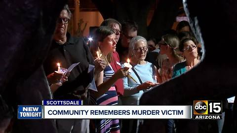 Community gathers to remember Scottsdale murder victim