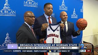 Broadus introduced as Morgan State head men's basketball coach